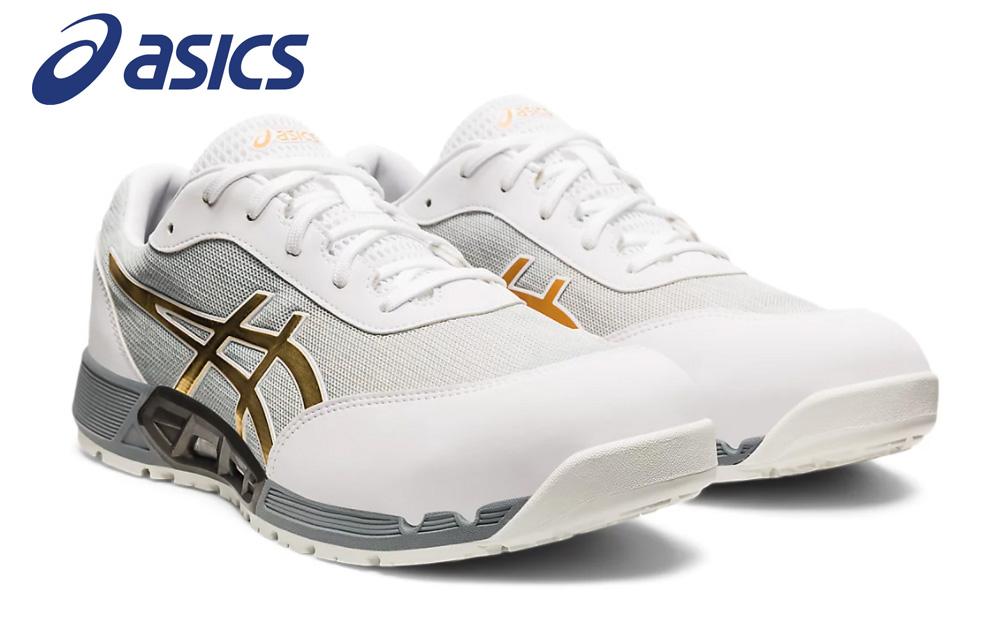 夏に涼しいホワイト 2021年春夏新色 『1年保証』 アシックス安全靴 ウィンジョブ CP212 爆安プライス ホワイト×ピュアゴールド 送料無料 スニーカー 即日出荷可能 在庫限定 限定色 安全靴
