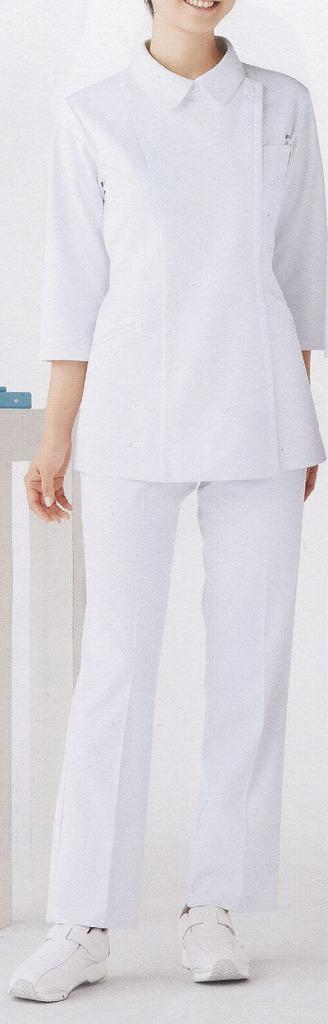 ナースジャケット【七分袖】 白衣・女性