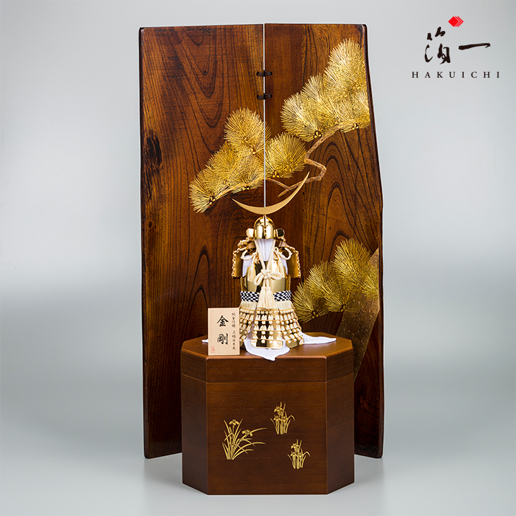五月人形 金剛(桐箱)|金沢金箔の箔一(はくいち)|