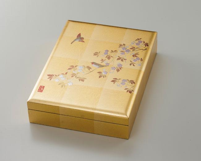 樱桃开花鸟手框 (B5 大小)