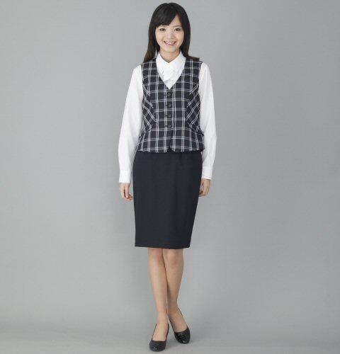 FV35910 ベスト (送料無料 フォーク folk ネイビー 春夏 レディース 女性用 通販 白衣ネット)