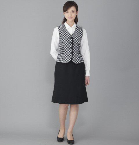 FV35961 ベスト (送料無料 フォーク folk 白 ホワイト 春夏 ブラック 黒 レディース 女性用 通販 白衣ネット)