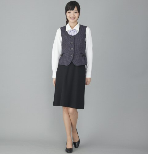 FV35971 ベスト (送料無料 フォーク folk 春夏 ブラック 黒 レディース 女性用 通販 白衣ネット)