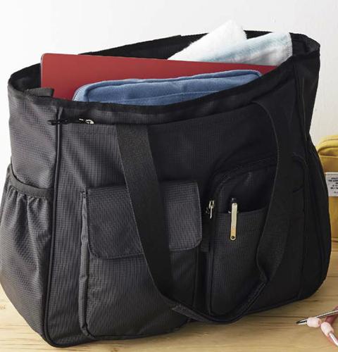 AKB1000-01 モンブラン バッグ 2WAY ブラック(医療用 介護用 看護用 訪問 ナース ヘルパー 黒 ネイビー 通販 白衣ネット)