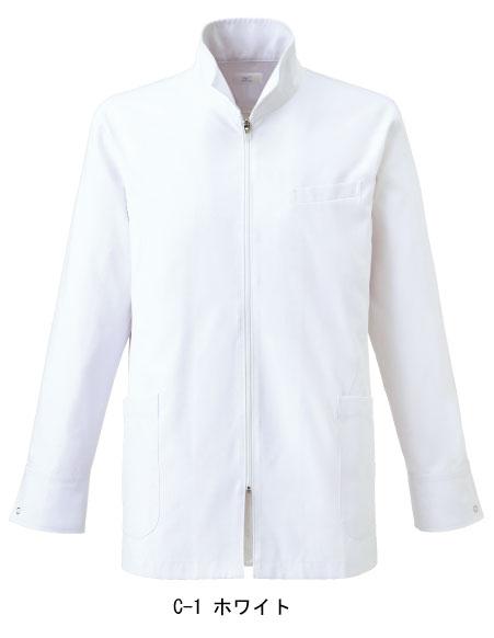 白衣 ドクターコート ハーフコート 男性用 ミズノ MIZUNO unite MZ-0056 診察衣