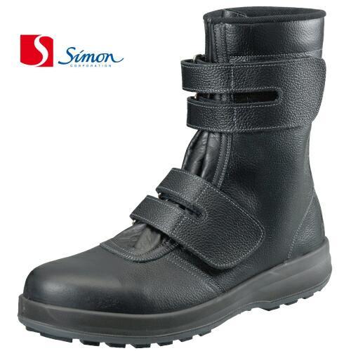 シモン 安全靴 シモン WS38 長マジック SX3層底Fソール(ws38si)