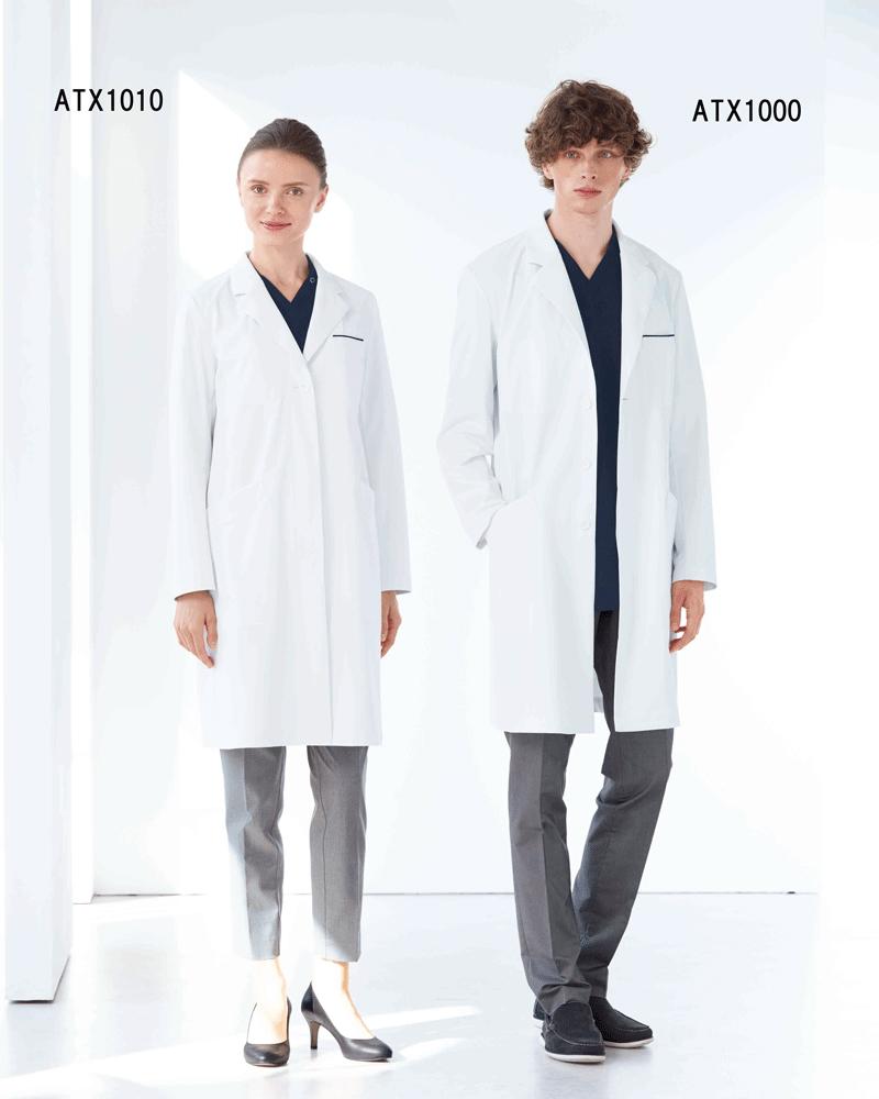 NEW 年末年始大決算 身体防護をコンセプトに考えられたコートです ATX-1010 アツロウタヤマレディスコート