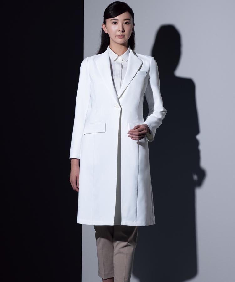 KZN409-C/10 KAZENレディス診察衣長袖