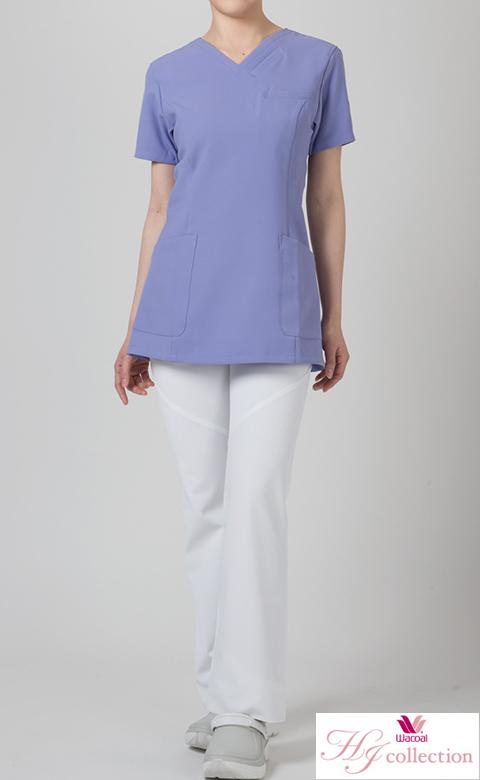 ワコール(wacoal)/フォークナースウェア HI300 ★ブーツカットパンツ医療白衣 S~3L