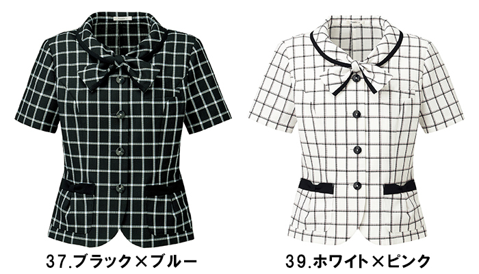 BONMAX ボンマックス AJ0824 オーバーブラウス17号~21号事務服 制服 【代引き不可】