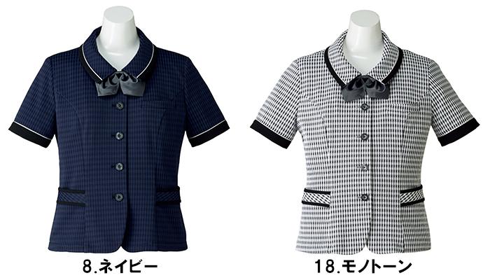BONMAX ボンマックス AJ0835 オーバーブラウス17号~21号事務服 制服 【代引き不可】