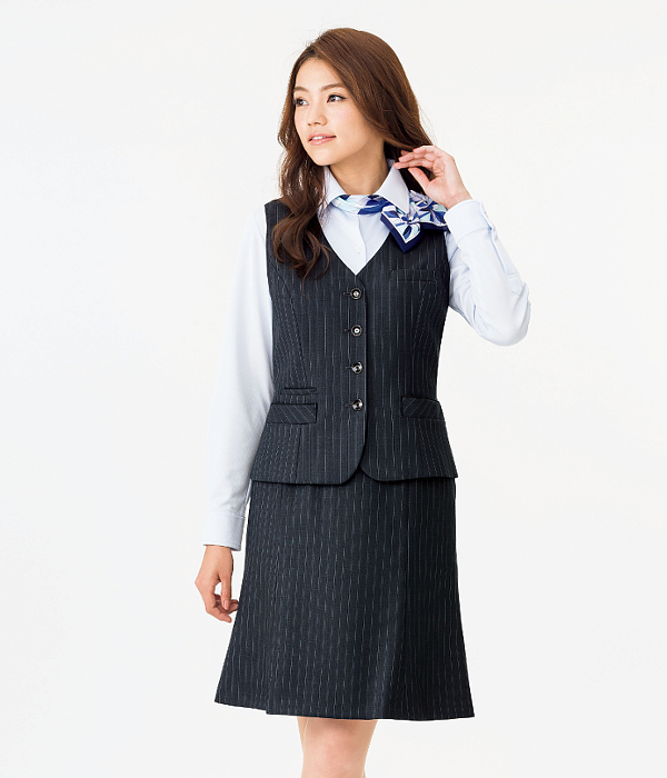 BONMAX ボンマックスAS2282 マーメイドスカート5号~15号事務服 制服 【代引き不可】