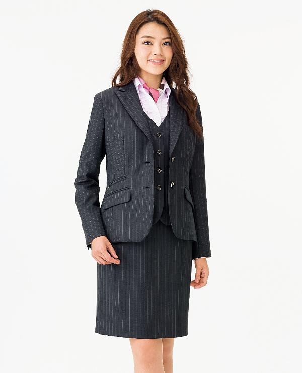 BONMAX ボンマックスAS2283 タイトスカート17号・19号・21号事務服 制服 【代引き不可】