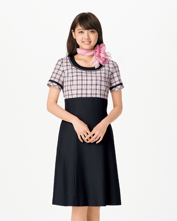BONMAX ボンマックスLO5709 ワンピース5号~15号事務服 制服 【代引き不可】