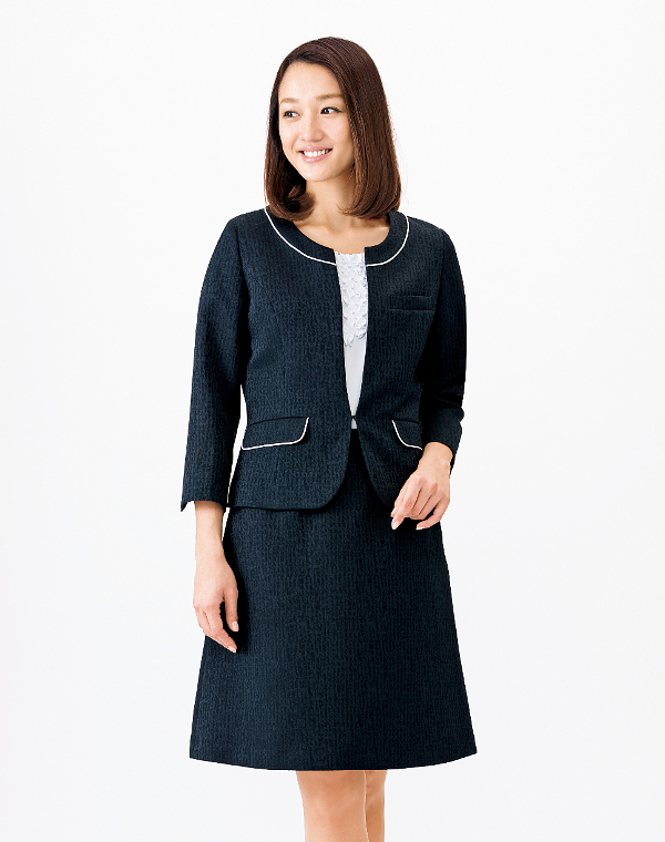 BONMAX ボンマックスLS2748 Aラインスカート5号~15号事務服 制服 【代引き不可】