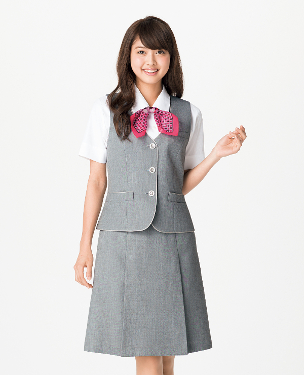 BONMAX ボンマックスLS2751 プリーツスカート17号・19号・21号事務服 制服 【代引き不可】