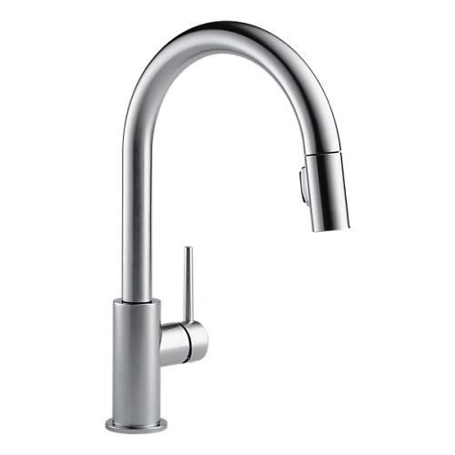 DELTA/デルタ トリンシック (キッチン水栓) ステンレス 9159-AR-DST