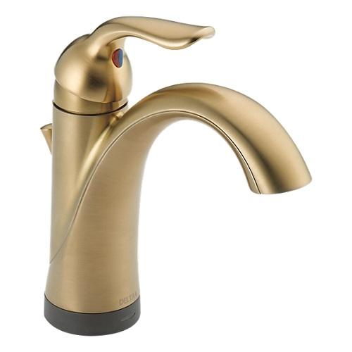DELTA 輸入水栓 正規品 シングルハンドル タッチ&センサー ラハラ タッチ水栓 538T-CZ-DST ハンズフリー 洗面用水栓 デルタ シャンパンブロンズ