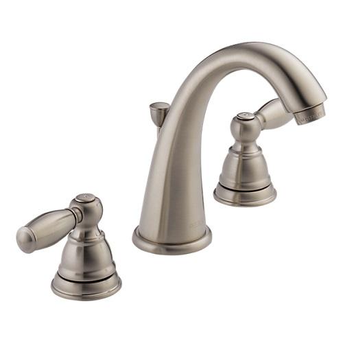 正規品 節水 ブラッシュニッケル クレイモア 洗面 PEERLESS P299196LF-BN 混合 洗面用水栓 ピアレス 輸入水栓 2ハンドル