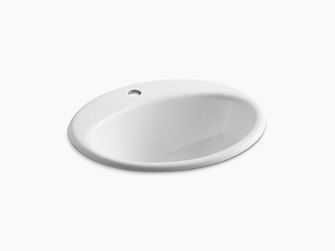 KOHLER/コーラー ファーミントン 洗面ボウル ホワイト K-2905-1-0