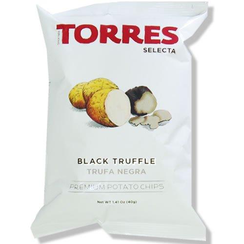 送料無料 スペイン産乾燥黒トリュフを使った味も香りも贅沢なチップス トーレス 在庫あり 黒トリュフポテトチップス 40g×20袋 原産国名スペイン 輸入菓子 輸入ポテトチップス 18%OFF 高級ポテトチップス 海外スナック 海外ポテトチップス スペインのスナック