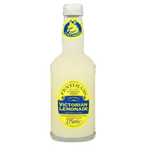 送料無料 フェンティマンス ビクトリアンレモネード 275ml×12本【輸入食品】イギリスのおみやげ イギリス 土産 生姜いり 天然香料 ジンジャー入り おしゃれな瓶