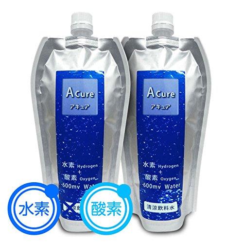 【送料無料】 Acure(アキュア)530mlx24本入 無炭酸 水素水 酸素水 機能水 活性酸素除去 水 ミネラルウォーター 高濃度