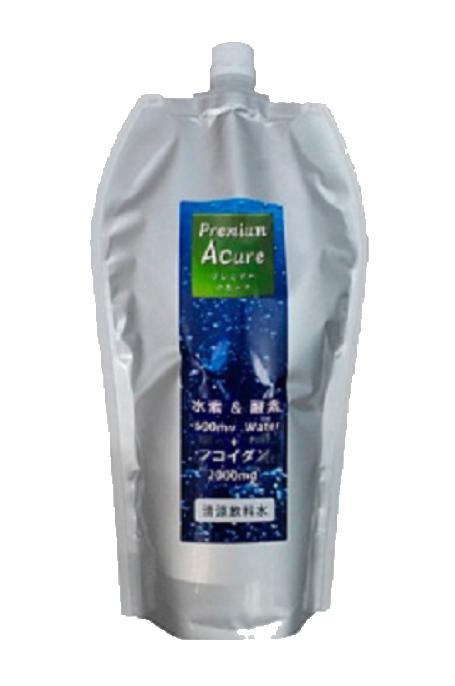 【送料無料】プレミアム アキュア(Premium Acure)530mlx12本 無炭酸 水素水 酸素水 機能水 活性酸素除去 水 ミネラルウォーター 高濃度