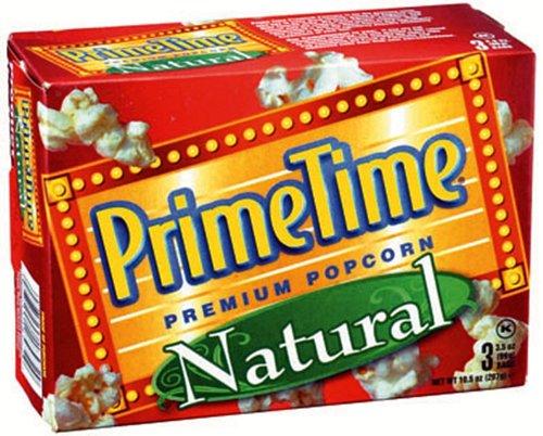 【送料無料】 プライムタイム マイクロウェーブ ポップコーン ナチュラル3P 297g×12箱 輸入食品 輸入ポップコーン アメリカのポップコーン 輸入菓子 海外のポップコーン 海外菓子