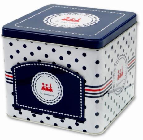 ※輸入品のため缶の多少のキズや凹みはご了承下さい ラ トリニテーヌ キューブディスペンサー ガレット個包装タイプ 380g フランスのおかし 輸入菓子缶 缶 25%OFF ブランド買うならブランドオフ ラトリニテーヌ 海外菓子