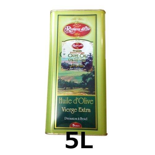 チュニジア産エキストラバージンオリーブオイル(5L) 送料無料