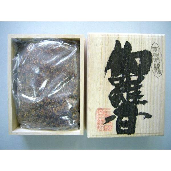 焼香 抹香 「伽羅香120g桐箱入り」 【送料無料】
