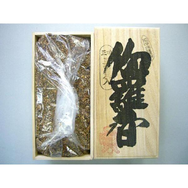 焼香 抹香 「伽羅香500g桐箱入り」 【送料無料】