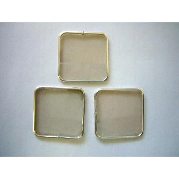 ネコポスもOK 銀葉香道具 銀葉 3枚セット 出群 安心の定価販売