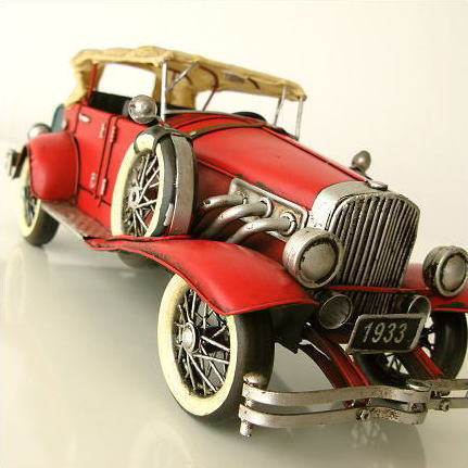 Antique Retro Car Figurine Stylish Tin Toy Iron Iron American Gadgets  American Gadgets Interior Sculpture Antique Gadgets Cool Figurine Accessory  Men ...