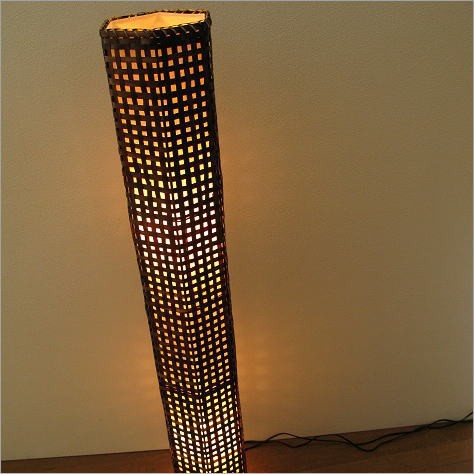 Asian Lampesnickfloorlampmoodrampstandrampinterialampstand Lighting Light  Bamboo Hexagonal Tower Lamp