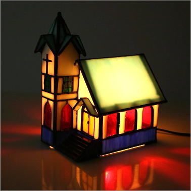 Awesome Good Stained Glass Lamp Lighting Interior Lamp Lighting Lamp Fairy Tale  Fashion Cute Objet Figurines House Stained Glass Lamp Table Lamp Antique House  Art ... Home Design Ideas