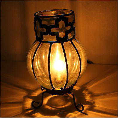 Lamps Floor Stand Blown Glass Lamp Stand Elegant Ethnic Asian Lighting  Stand Lamp Interior Light Glass ...