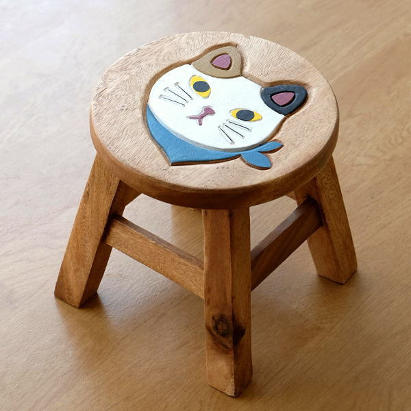 Awesome Cute Round Natural Wood Chairs Wooden Stool Cat Gadgets Solid Material Miniature Childrens Chair Round Chair Flower Woods Tools Asian Children Wooden Short Links Chair Design For Home Short Linksinfo