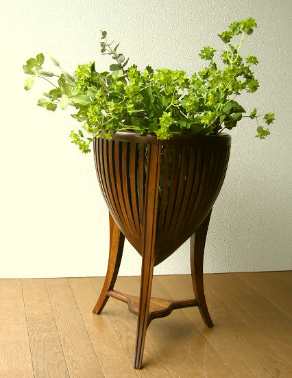 Rakuten & Teak solid wood flower stand wooden flower fashion flower pot flower pot cover pot stand plant stand flower stand newspaper magazine storage living ...