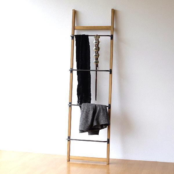 ラダーラック 木製 アイアン おしゃれ 棚 ラダーシェルフ ラダーハンガー はしごシェルフ 立て掛け 収納 ディスプレーラダー