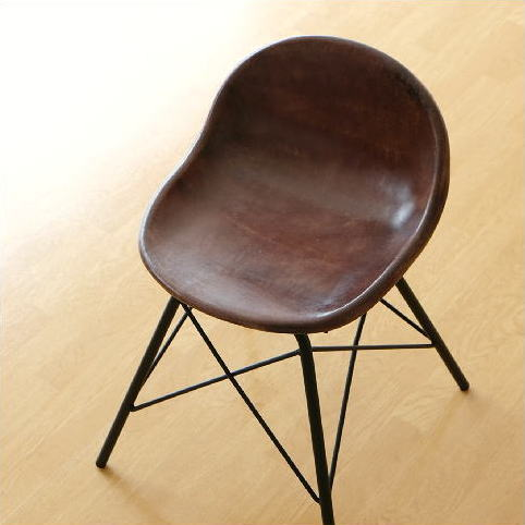 スツール チェア レザー 本革 アイアン アンティーク レトロ 革製 椅子 イス レザースツール レザーチェア おしゃれ シンプル かっこいい インテリア スタイリッシュ ヴィンテージ デザイン 革張り モダン リビングチェア レザーチェアー クロス