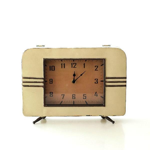 置き時計 アンティーク レトロ おしゃれ アナログ 卓上 時計 レトロなマントルクロック