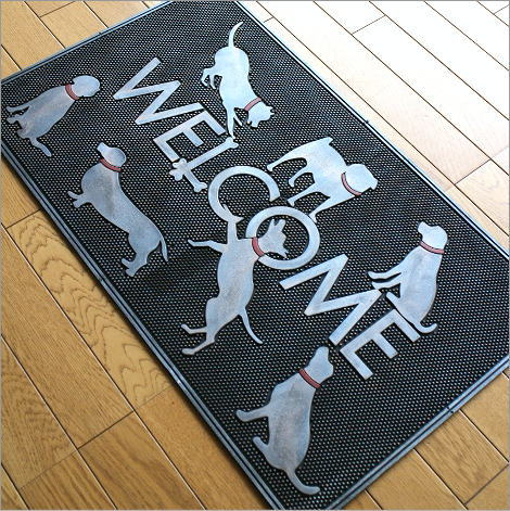 Dog Door Mat Outdoor Rubber Mat Rugs Outdoor For Door Mat Dog Doormat Dog  DOG Rubber ...