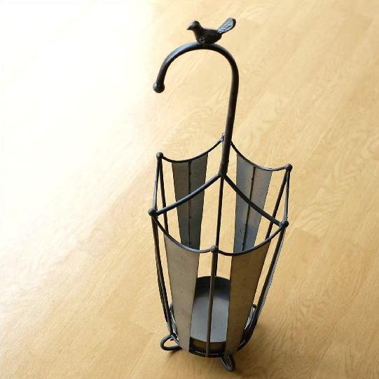 アイアン傘たて アンブレラ 傘立て おしゃれ アイアン ブランド買うならブランドオフ スチール アウトレット シャビー レトロ アンブレラスタンド 鳥 デザイン 可愛い 傘 アンティーク かわいい