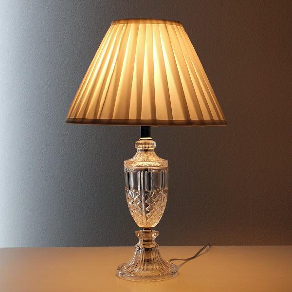 テーブルスタンド ガラス 照明スタンド ランプスタンド テーブルライト テーブルランプ シェードランプ おしゃれ エレガント リビング テーブルサイド 照明 寝室 ベッドサイド ガラスのテーブルランプ
