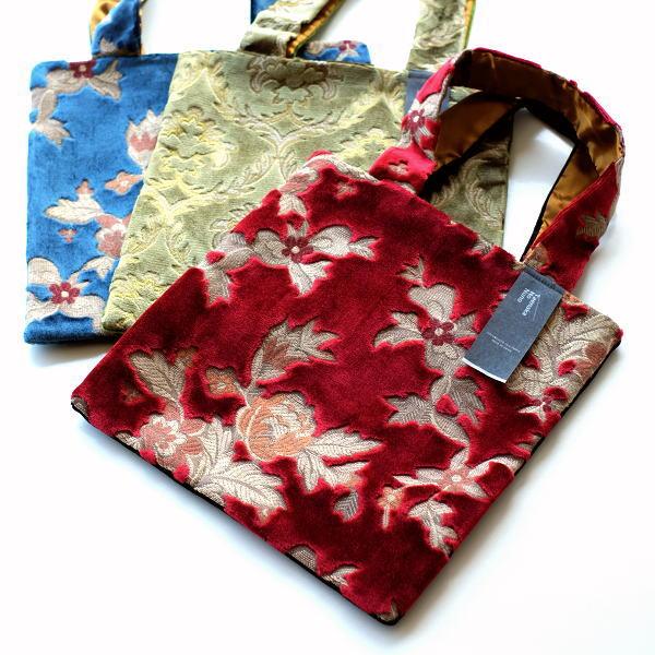 トートバッグ A4 縦 おしゃれ 金華山織り かばん 和柄 日本製 金華山織りスクエアバッグ 3タイプ