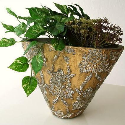 フラワーベース 花瓶 陶器 花器 ベース 大きい 装飾 おしゃれ アンティーク風 フラワーアレンジ 花入れ フラワーベース 花瓶 陶器 花器 ベース 大きい 装飾 おしゃれ アンティーク風 フラワーアレンジ 花入れ ゴールドベース