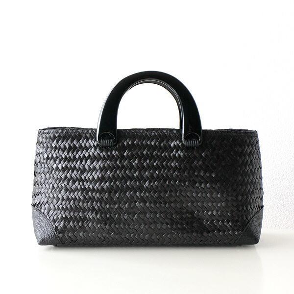 かごバッグ カゴバッグ おしゃれ トート 大人 かわいい 和風 和装 エスニック シンプル ナチュラル シーグラス横長バッグ BK