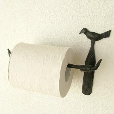 Hakusan Toilet Paper Holder Iron